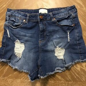 Forever 21 Shorts - Desctructed Cut Off Shorts